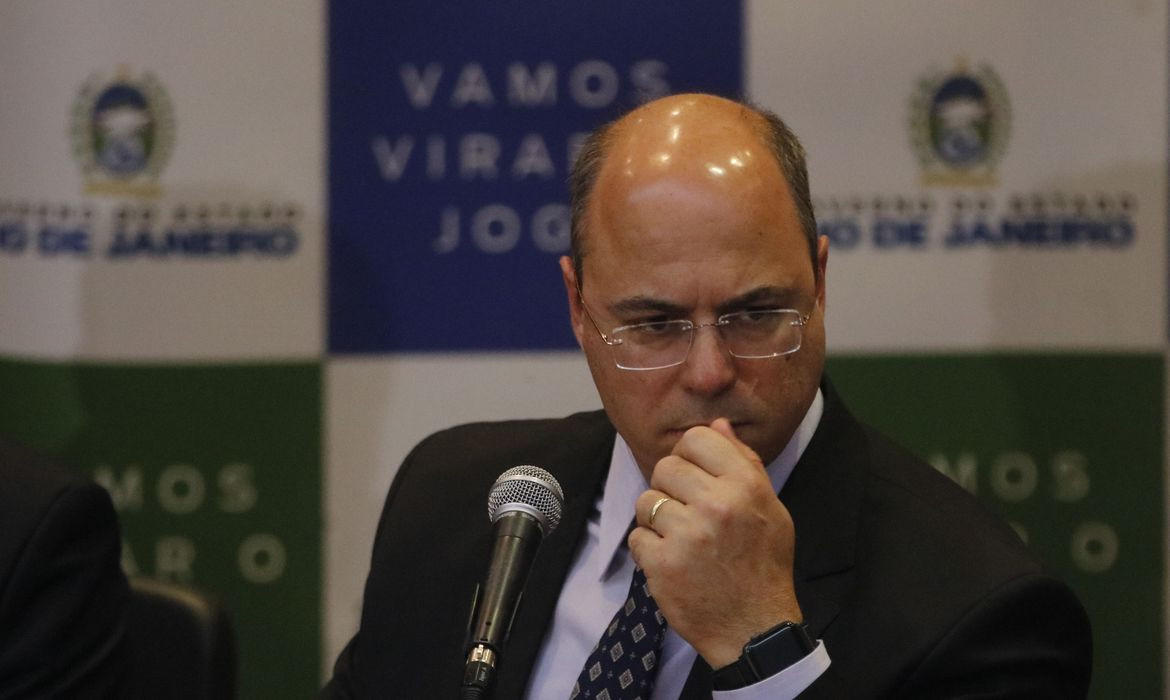 Relatório do impechment de Witzel é entregue ao Tribunal Misto